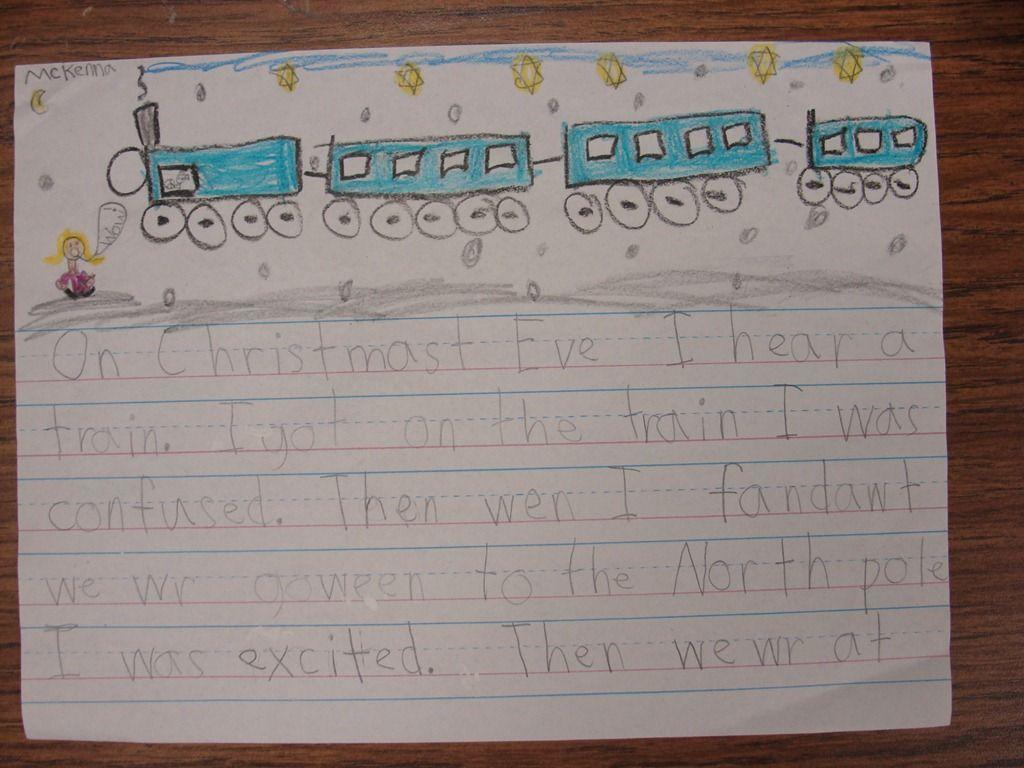 Polar Express Writing Activity