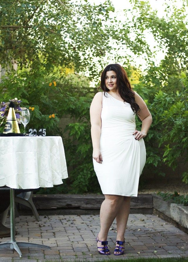 crystal coons what to wear on new years eve plus size white dress