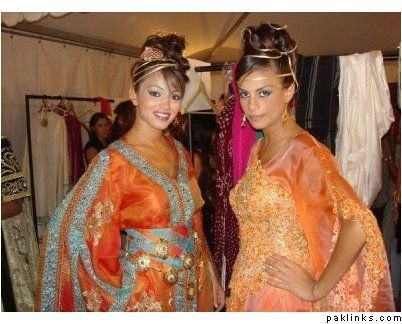 Moroccan style party dresses