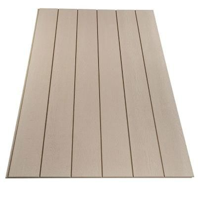 Duratemp 0 563 In X 48 In X 96 In Primed 8 In Oc T1 11 Plywood Siding Panel 871934 The Home Depot Plywood Siding Wood Panel Siding Exterior Wood Siding Panels
