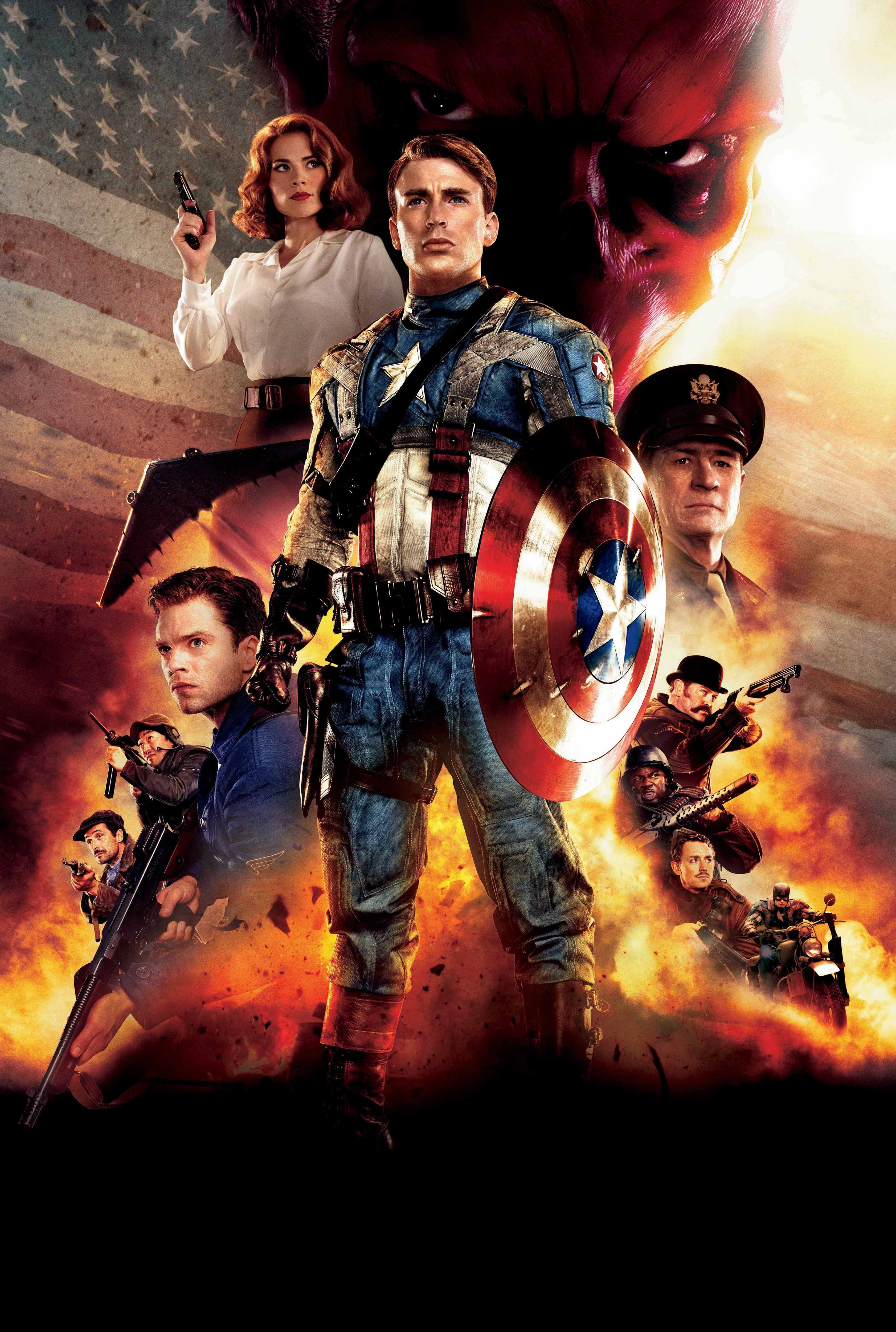 The film The First Avenger: Confrontation (2016): actors and roles