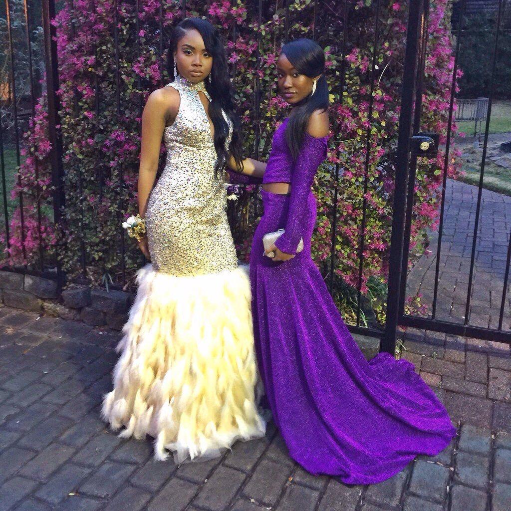 Black girls slaying prom 2k16 Vol 2.... ❤ IG: TheHeartShow SC ...