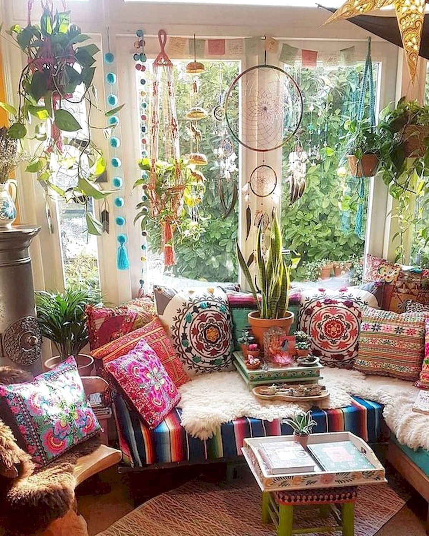 50 Bohemian Living Room Decoration Ideas Home Garden In 2020 Bohemian Living Room Decor Bohemian Bedroom Decor Hippie Home Decor
