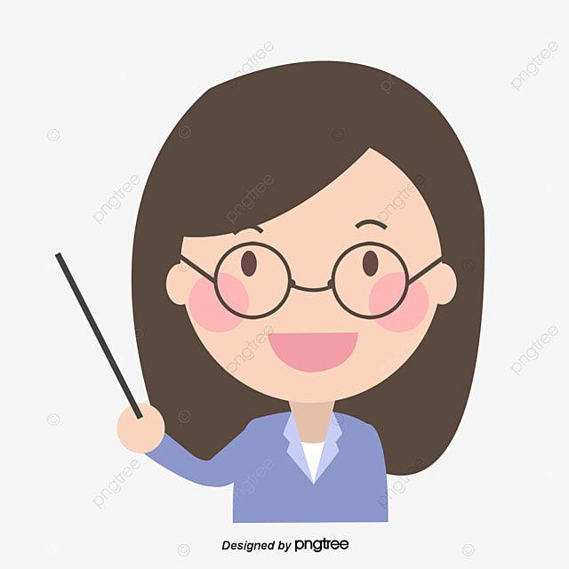 La Profesora De Gafas Profesor Personaje Dibujos Animados Png Y Psd Para Descargar Gratis Pngtree การ ต น ส ตว การ ต นน าร ก