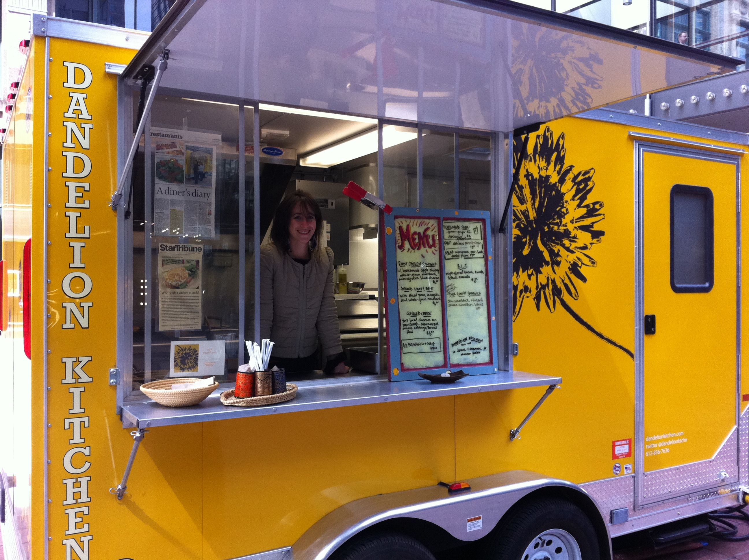Dandelion Kitchen Food Truck Downtown Minneapolis And Has Great