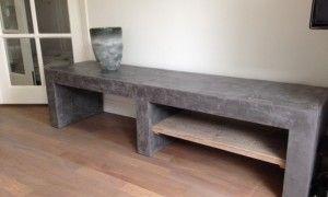 Betonnen of betonlook meubels: Wij maken uw wensen conrete. Van ...