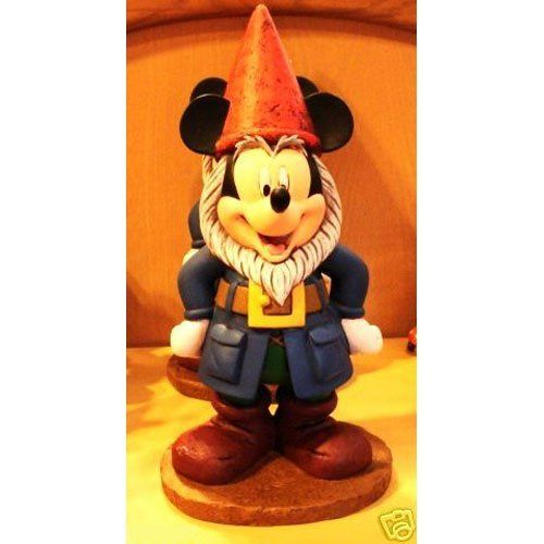 Disney Mickey Mouse Gnome Statue by Disney. $49.95. This highly ...