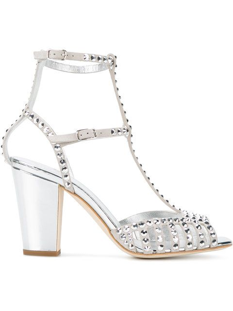 stud strap sandals - Metallic Giuseppe Zanotti zll8Xy9