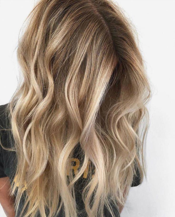 Pinterest : ✰ jasmineejaneee ✰ #balayagehairblonde #blondehair