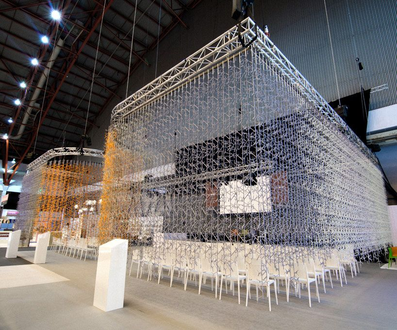 amass modular branch system by benjamin hubert - designboom, Innenarchitektur ideen