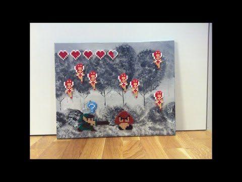 diy: bügelperlen bild : link gegen goomba / perler beads