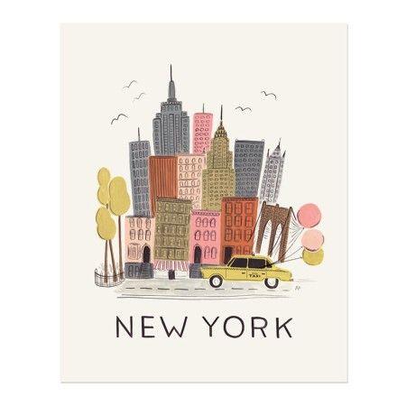 affiche new york new york pinterest image de ville affiches et dessin pour enfants