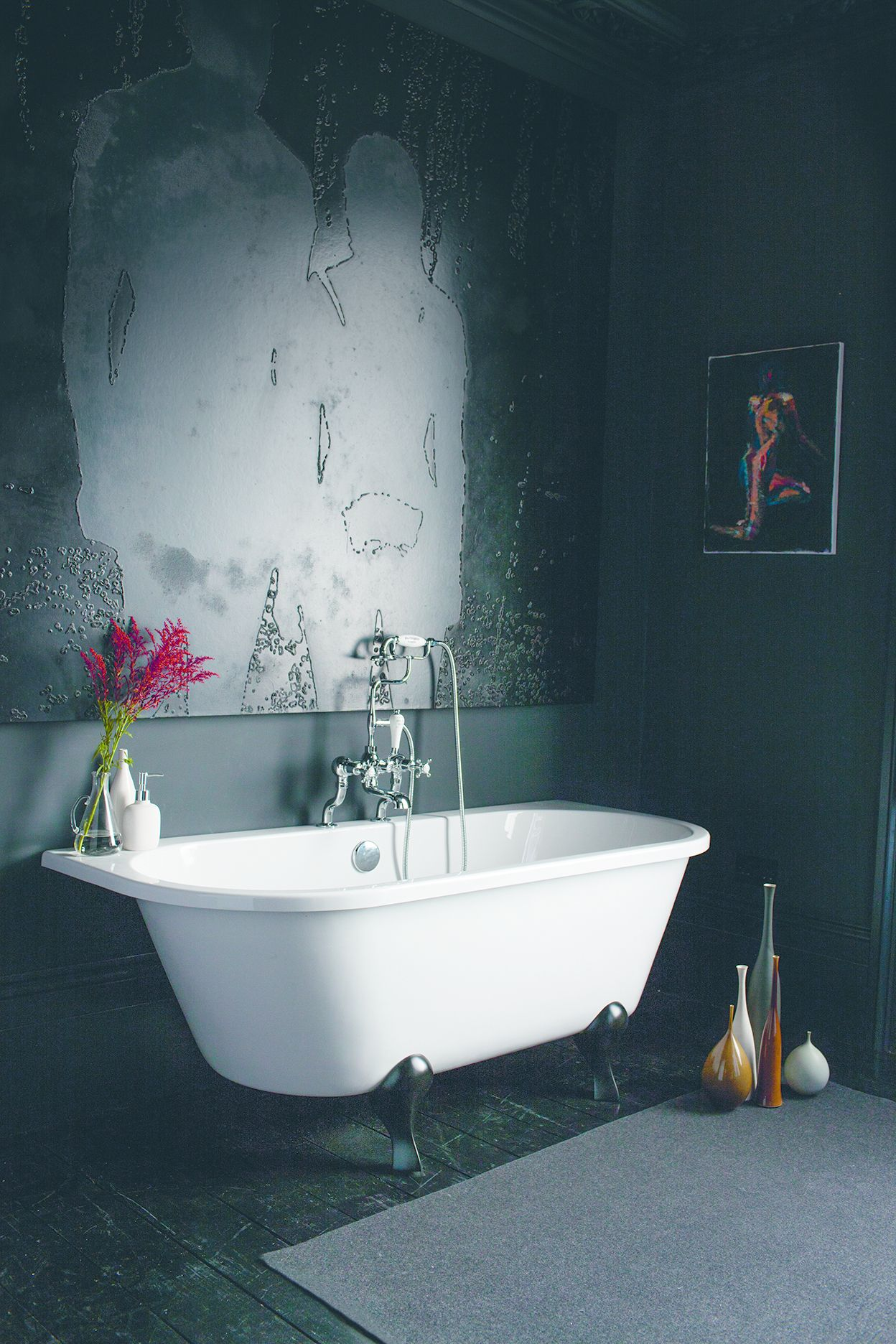 Tecaz bathroom suites - Every Dream Home Needs A Dream Bath And This Burlington Avante Garde Bath Is Lovely