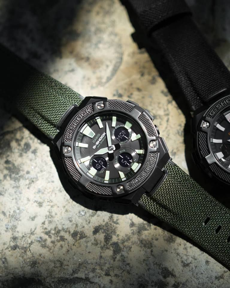 Live Photos G Shock Gst W130bc With Cordura Fabric Band G Shock G