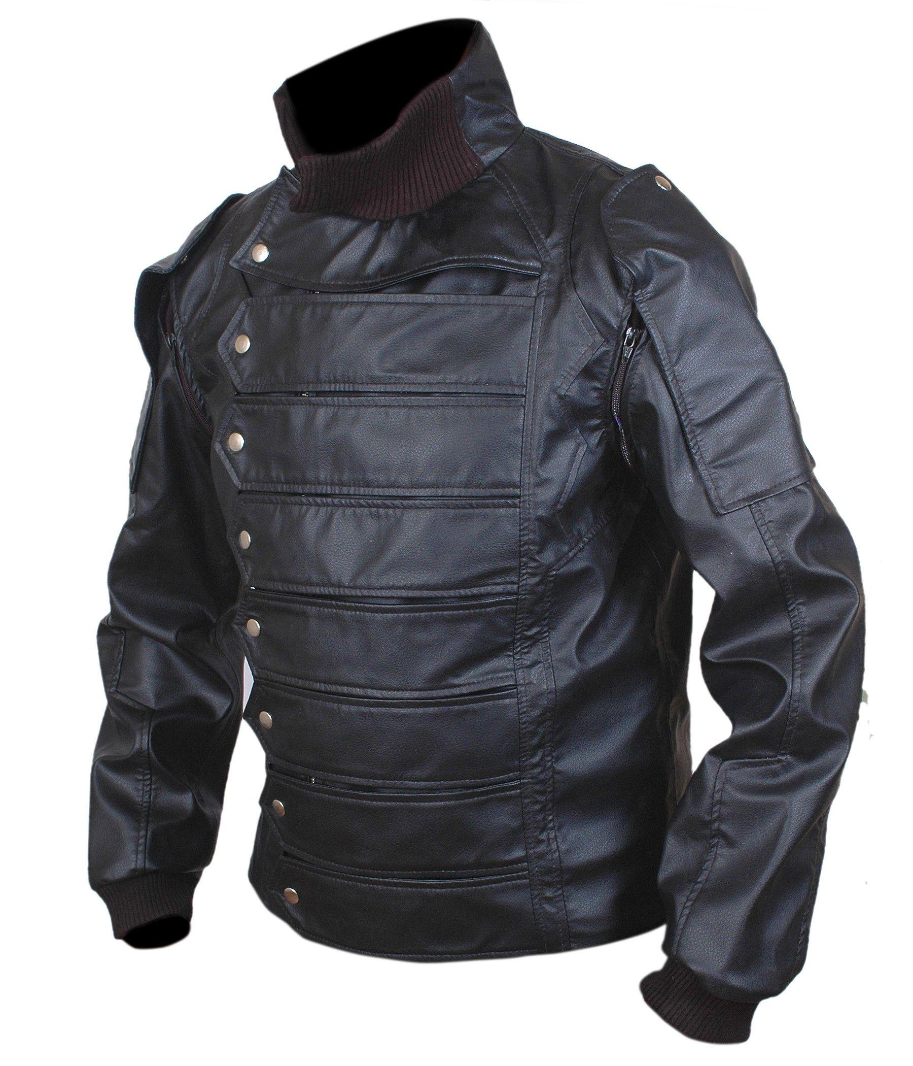 thewintersoldierjacket sebastianstanjacket Leather