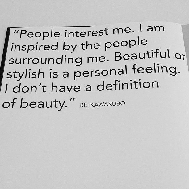 Rei Kawakubo Quotes: Rei Kawakubo Is An Artist I Did A Research Project On In