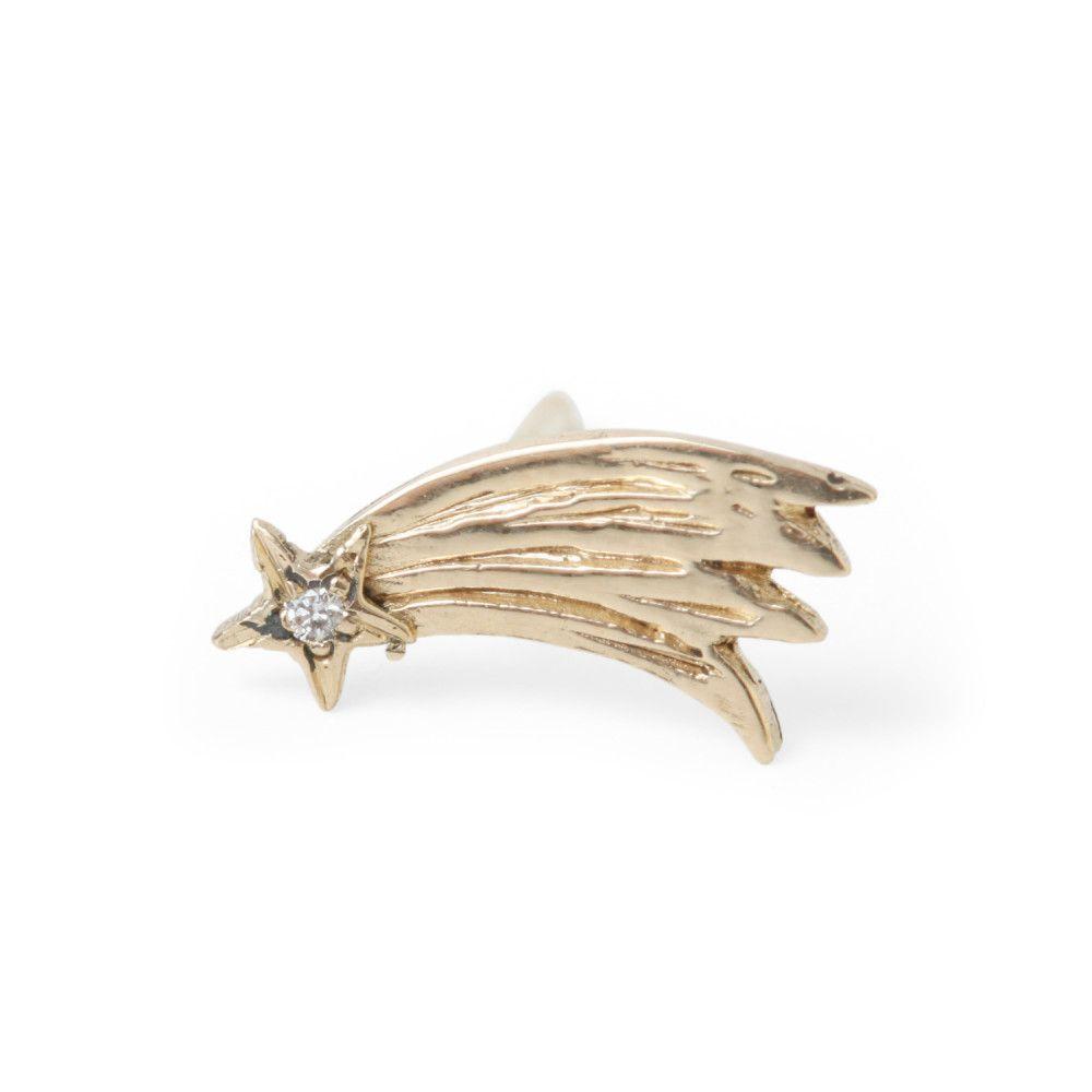 Shooting Star Earring Single New Jewelry Catbird