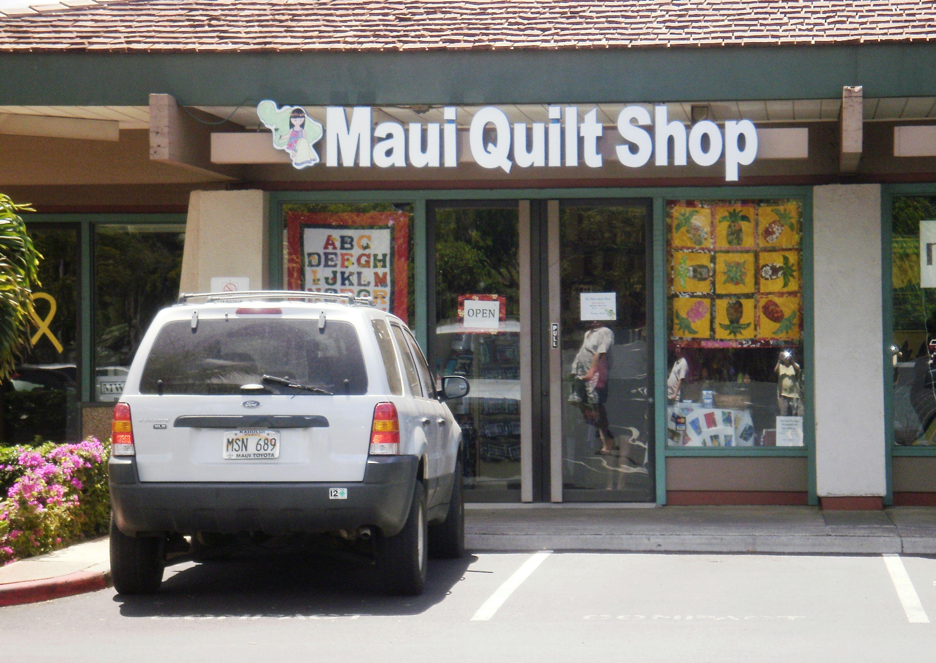 I ❤Maui Quilt Shop - Kihei. Maui. Dropped some cash here on ... : hawaii quilt shops - Adamdwight.com