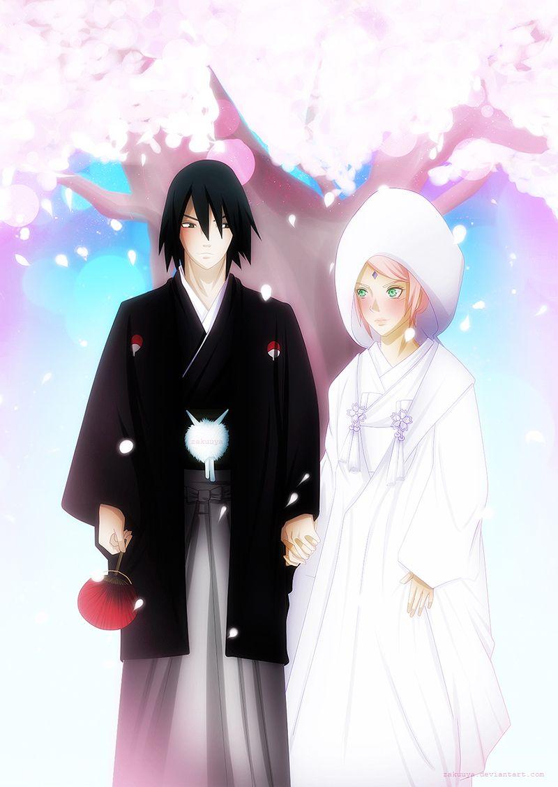 Wedding sasuke sakura A promise