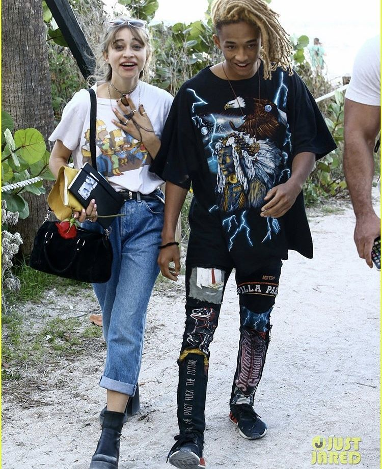jaden smith patched pants | Fashion