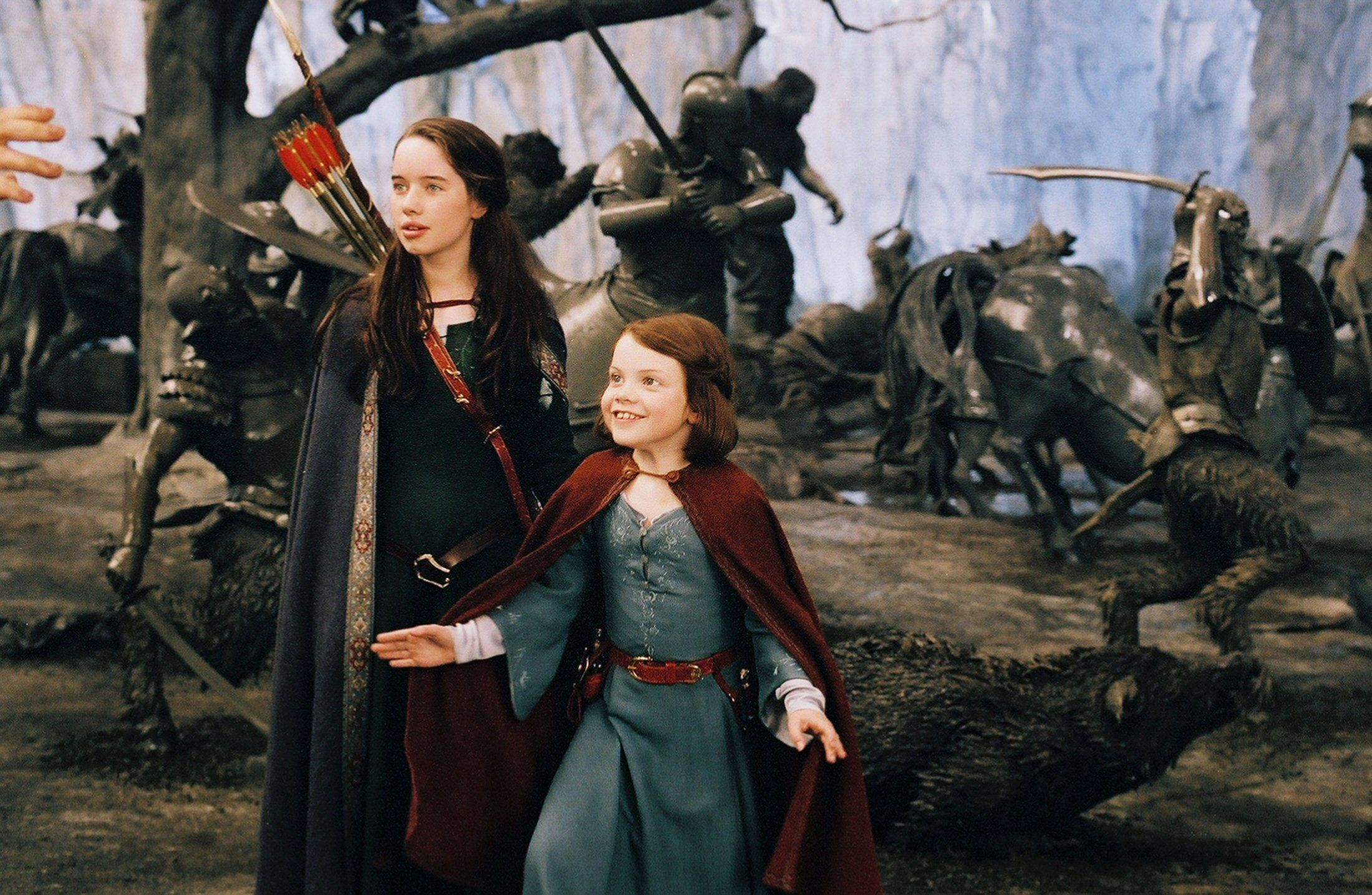 Susan and Lucy [NARNIA] | Empowered women in fantasy and