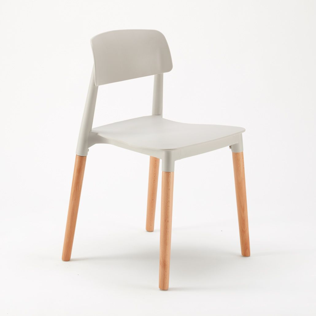 Sedie per Cucina e Bar Polipropilene e Legno Design Belloch