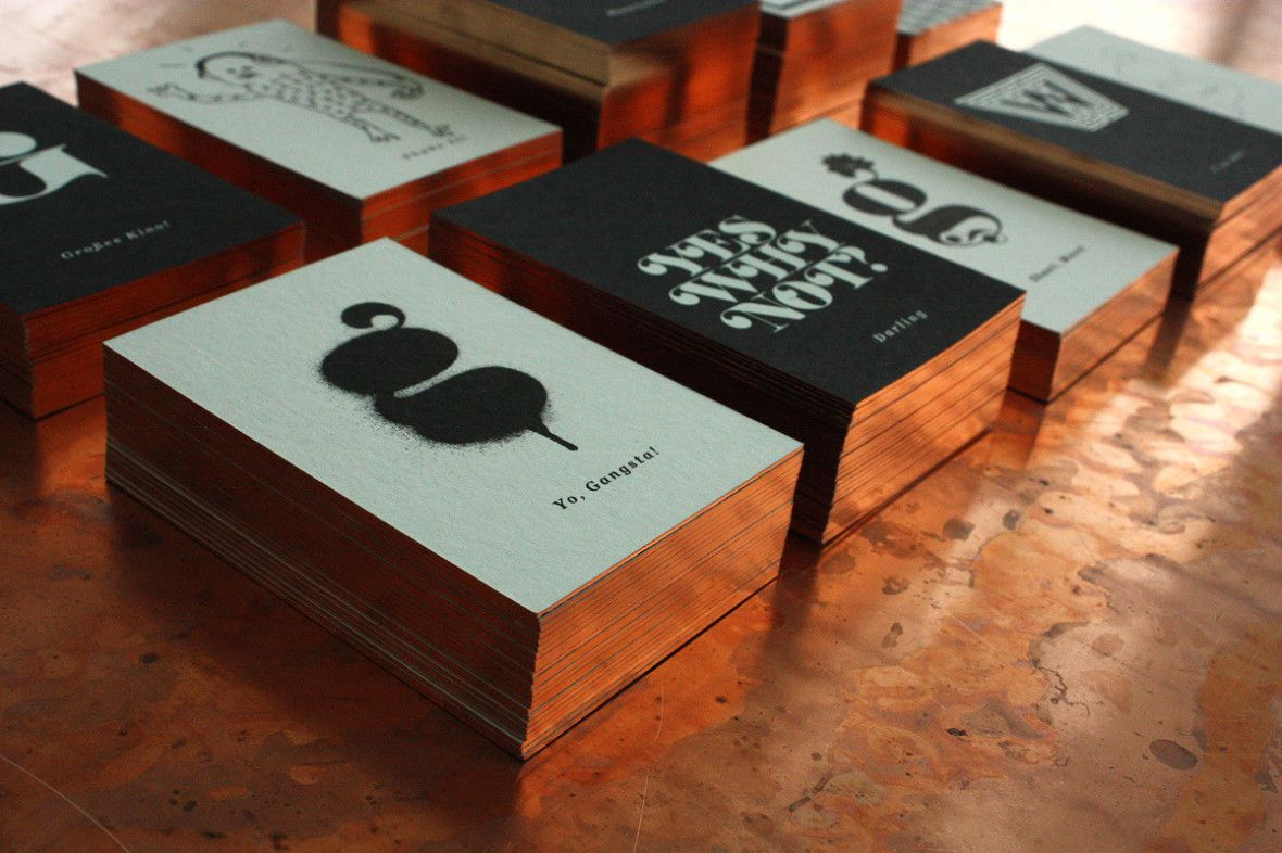 Heavy Metal Darling! | Visitenkarten design, Geprägte ...