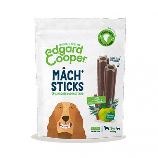 Sticks Dentaires à mastiquer à la Pomme et eucalyptus - Moyen chien - Edgard & Cooper chez Klep's