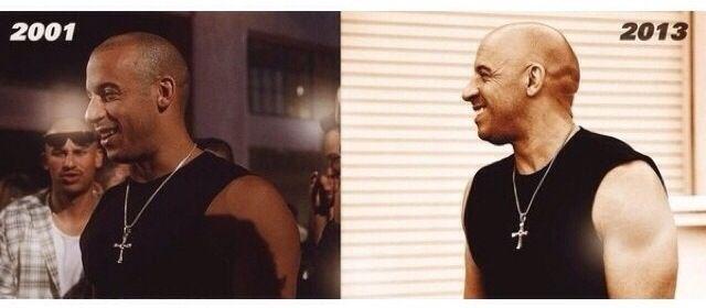 Then & Now Vin Diesel