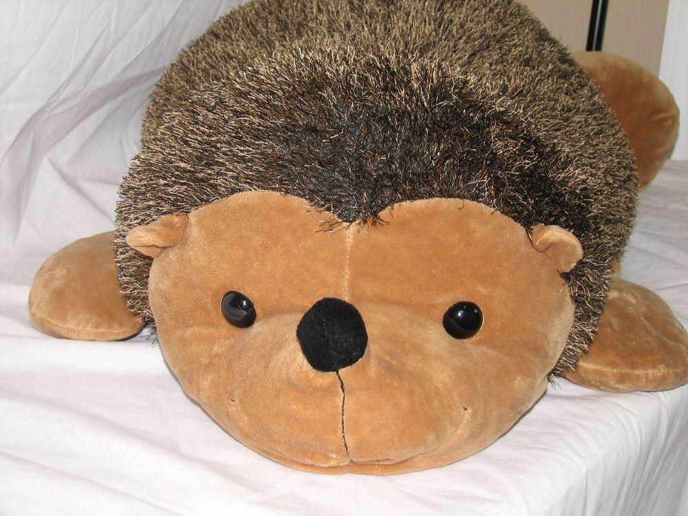 Huge Hedgehog Stuffed Animal Plush Toy Beanbag Pillow 42 Quot Long Free Shipping
