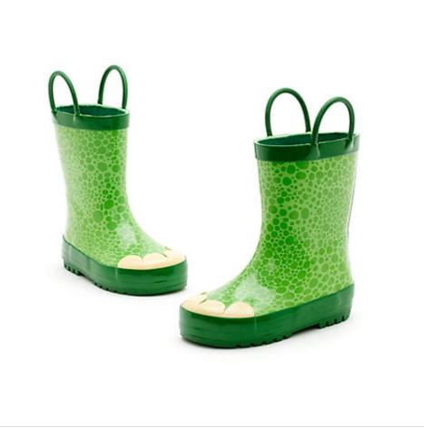 Kids Funky Dinosaur botas de agua 8ReGW