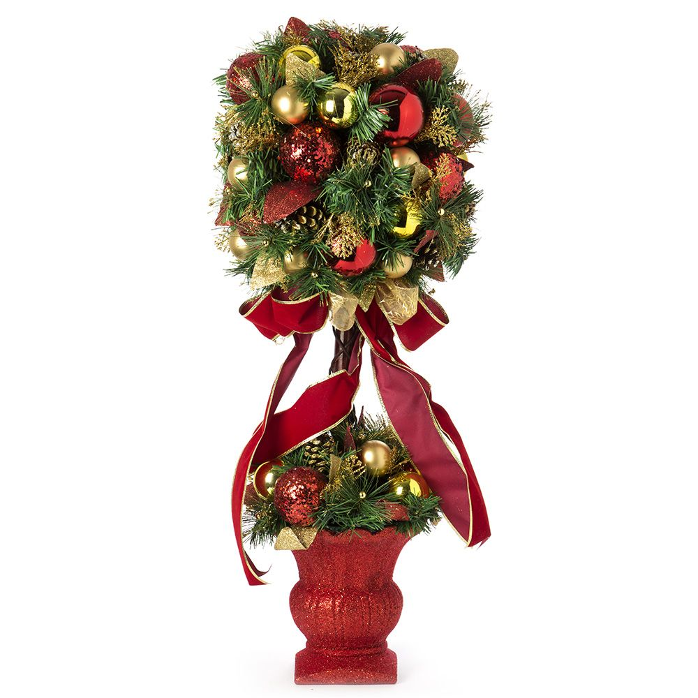 Swish Collection - Christmas Topiary Tree 85cm | DIY Topiary ...