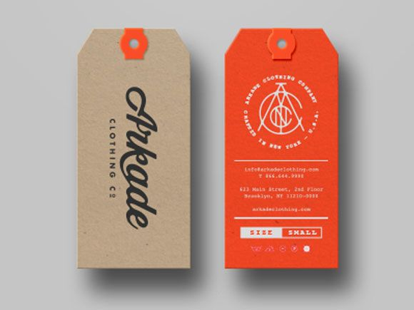 design hang tag - Cerca con Google | business card inspo ...