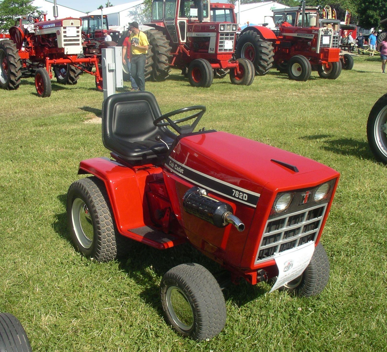 Red Cub Cadet Tractors : Cub cadet red power round up pinterest