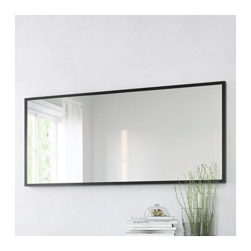 "STAVE Mirror - Black-brown, 27 1/2x63 "" - IKEA"