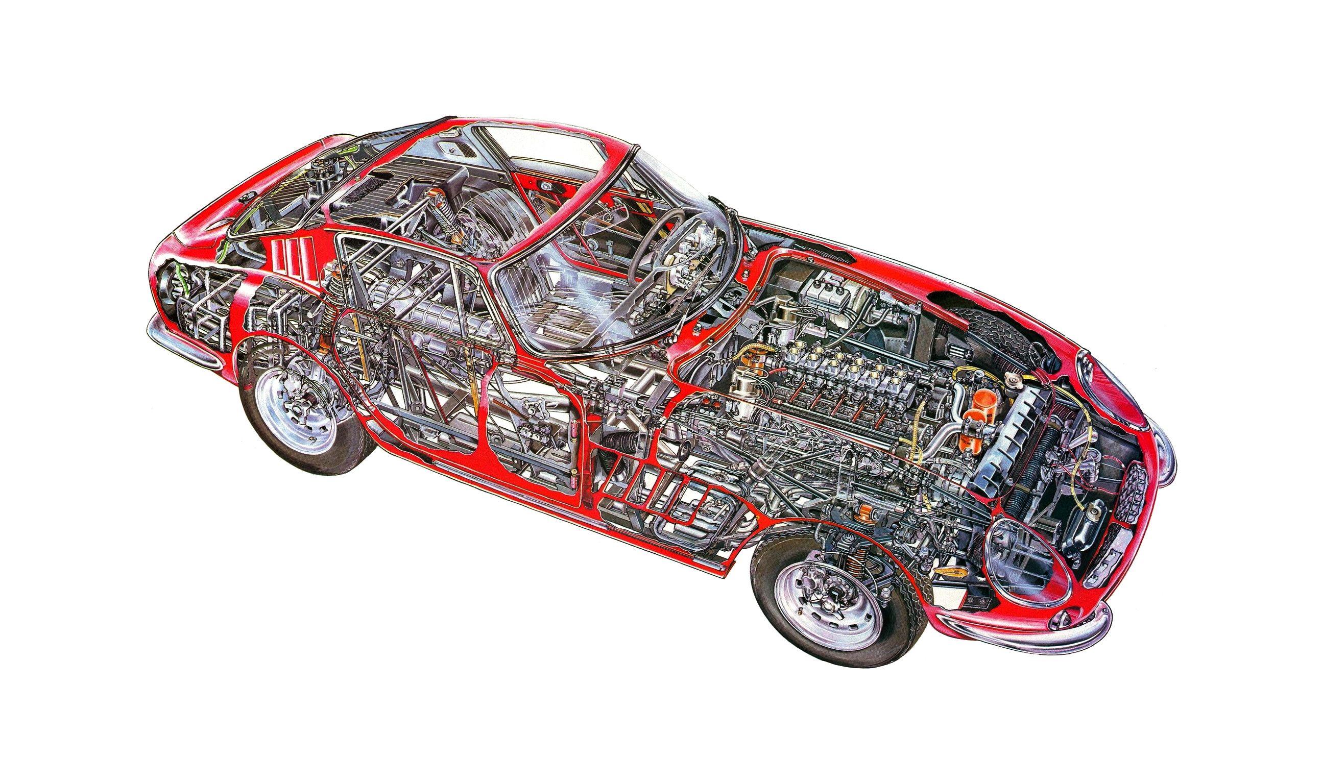 Ferrari Dino Berlinetta Competizione (Pininfarina) HD Wallpaper