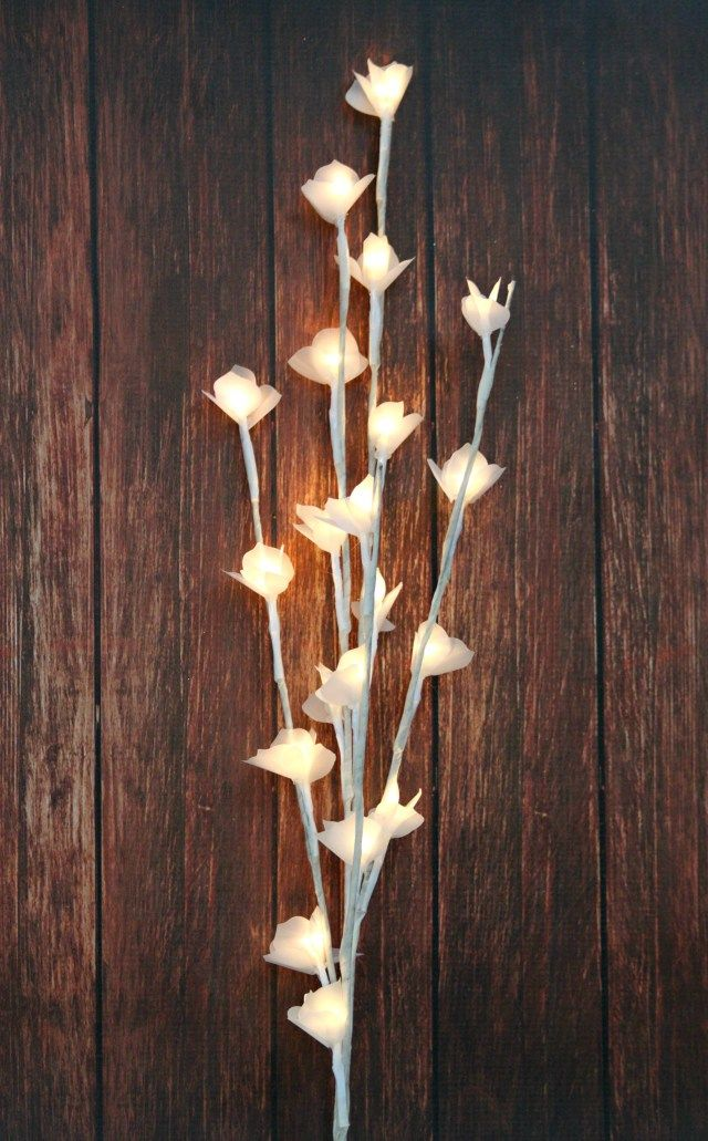 Use vellum paper with dies to create a stunning lamp altered flower use vellum paper mightylinksfo