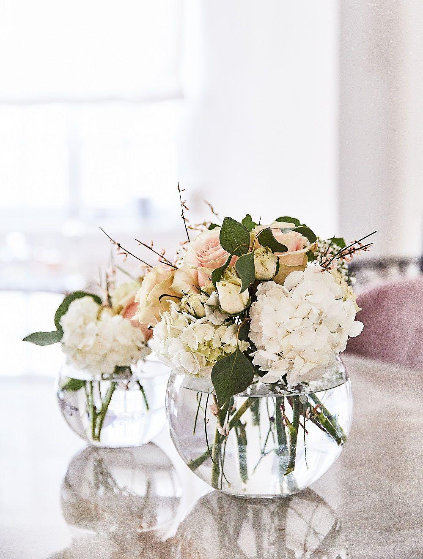 Vase Fishbowl Blumen Vasen Blumen Vase Blumen Vase