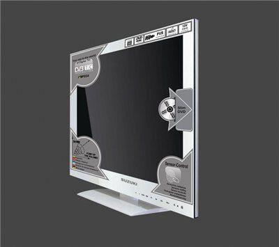 24 Saga Lcd Tv Full Hd Fernseher Sztv 246fdgw5 Mit Dvd Player Dvb T C Tuner 230 Volt 12 Volt In Klavier Weiss Electronic Products Lcd Phone