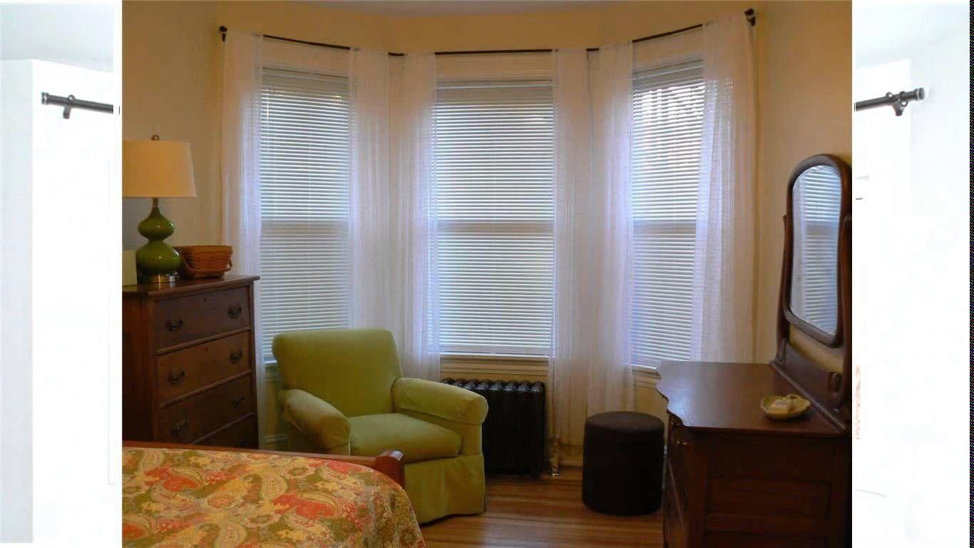 Bay window curtains bay window curtain rod living room