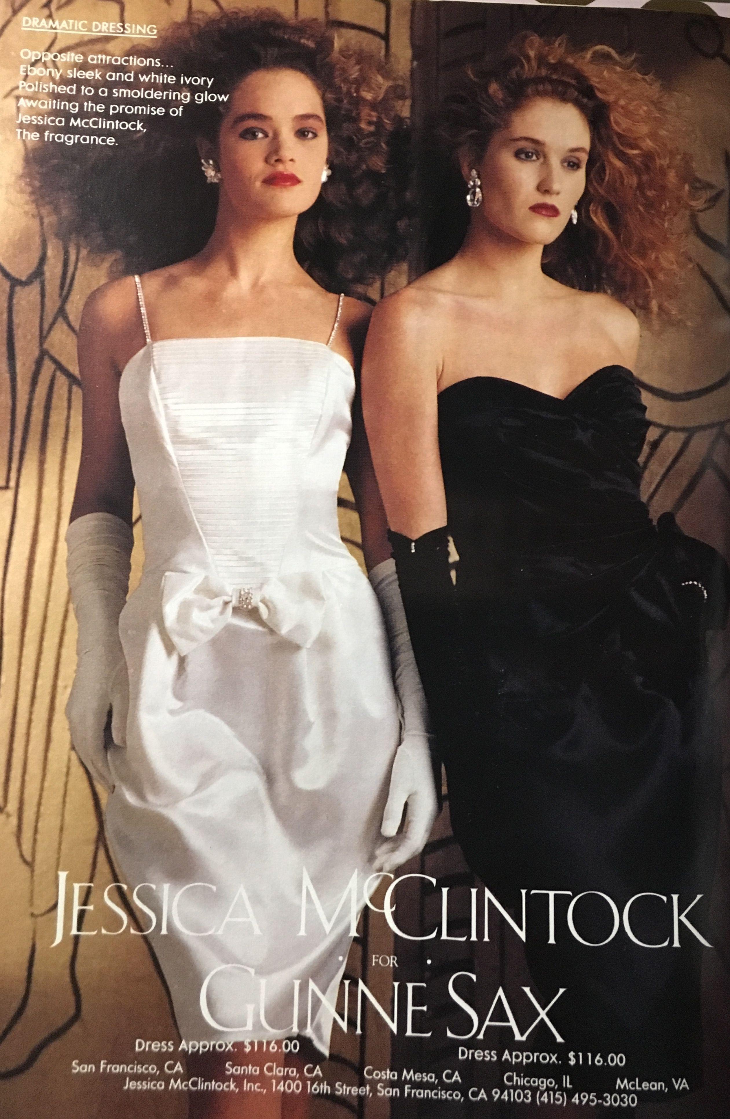 The White Was My Prom Dress 1990 Gunne Sax Seventeen Magazine March 1989 Jessica Mcclintock 80s Prom Dress 80s And 90s Fashion 90s Prom Dresses [ 3867 x 2522 Pixel ]
