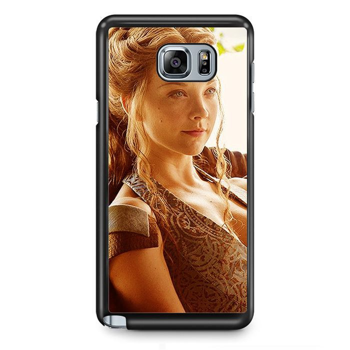 Natalie Dormer As Lady Margaery TATUM-7581 Samsung Phonecase Cover Samsung Galaxy Note 2 Note 3 Note 4 Note 5 Note Edge