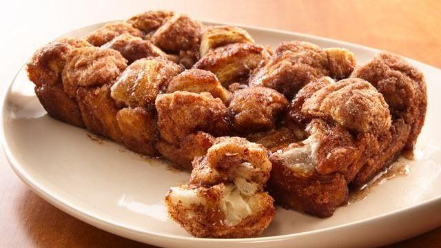 Cinnamon Sugar Pull Apart Loaf Recipe - Easy