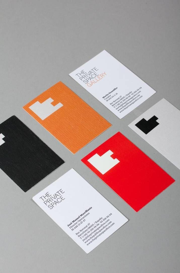 Carte Identite Barcelone.The Private Space Print Identity By Lo Siento Studio