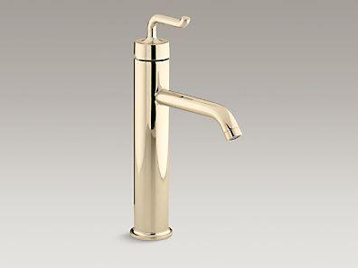 Vessel Sink Faucets Kohler K 14404 4 Af Purist Tall Single Hole Bathroom Sink Fauce Bathroom Sink Faucets Single Hole Sink Faucets Bathroom Sink Faucets