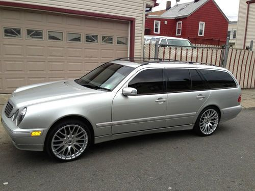 Find used 2002 mercedes benz e320 4matic wagon 4 door 3 2l for Find a mercedes benz