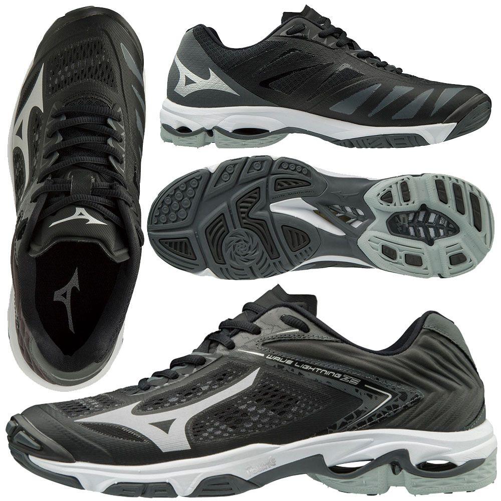 Mizuno Women S Wave Lightning Z5 Black Mizuno Volleyball Shoes Air Max Sneakers