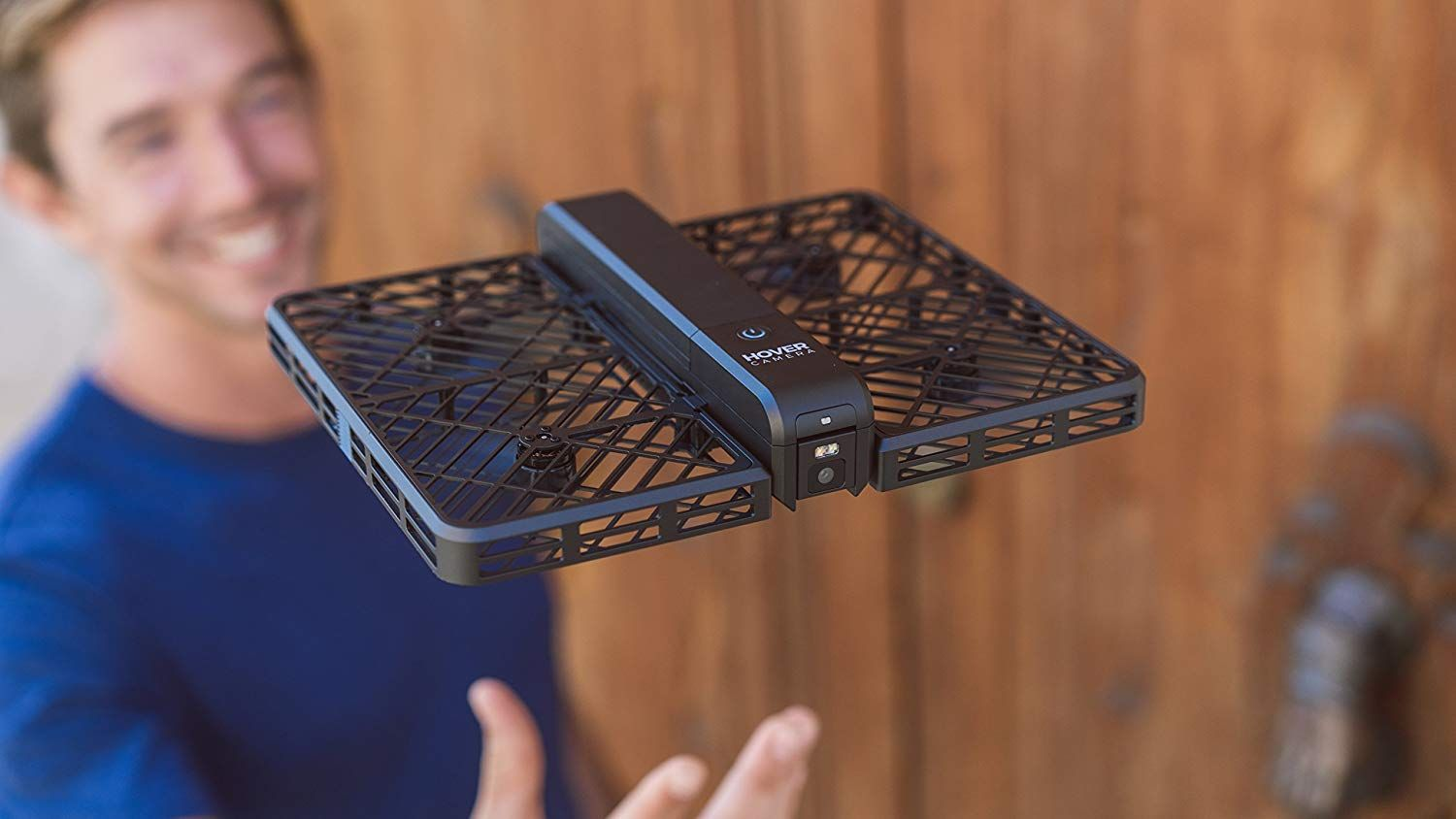 Hover Camera Passport Self Flying Drone Camera Flying Drones