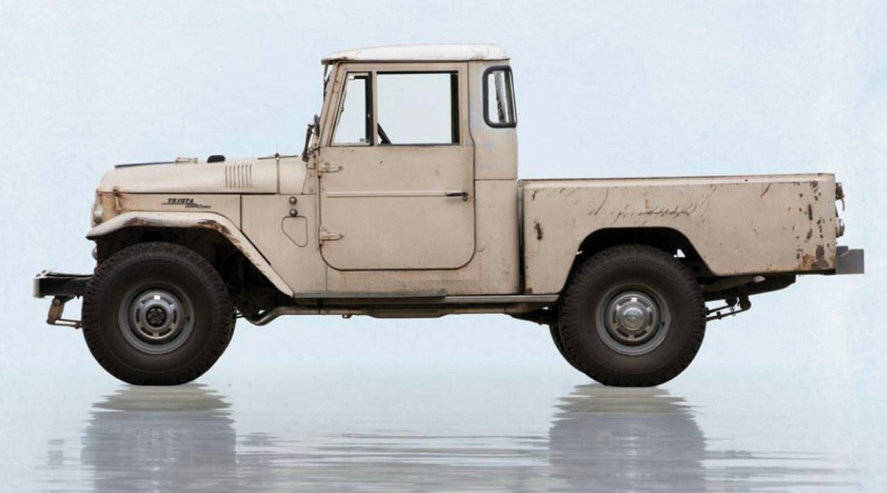Swb Toyota Land Cruiser Fj45 Just Starting To Patina