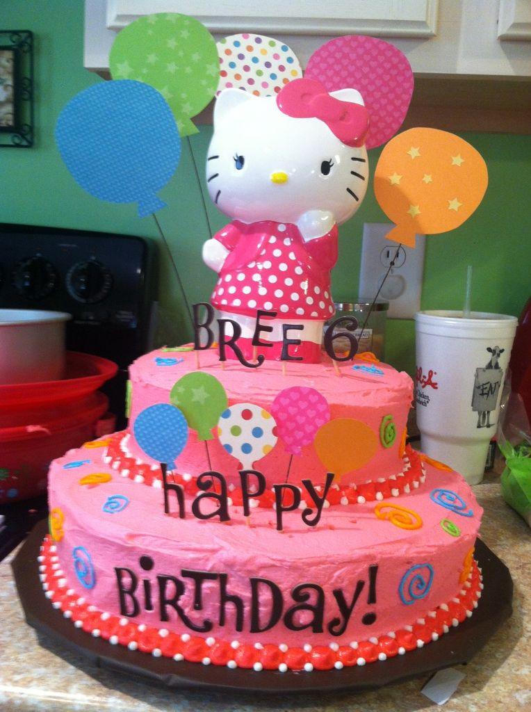 Hello kitty cake | Hello kitty cake, Hello kitty party ...